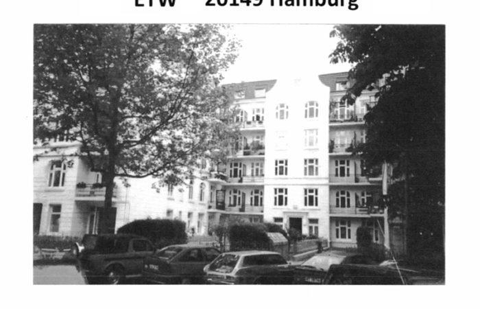ETW 3 1/2 Zimmer in Hamburg – Top Lage