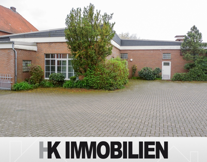Vielseitig einsetzbare Gewerbeimmobilie in verkehrstechnisch gut angebundener Lage in Bramsche-Ueffeln