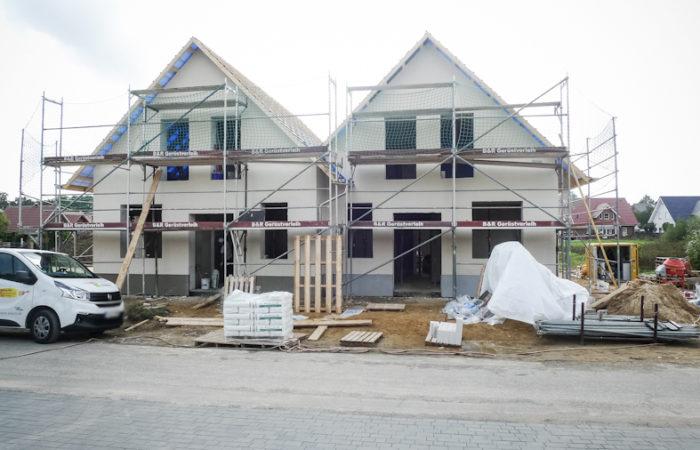 Neubau-Erstbezug zweier Doppelhaushälften in Fürstenau-Schwagstorf
