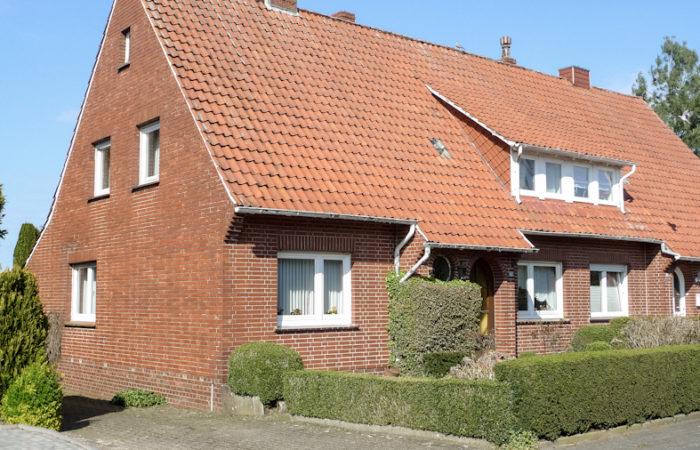 Handwerker u. Tüftler aufgepasst!!! Sanierungsbedürftige Doppelhaushälfte in Ankum kaufen